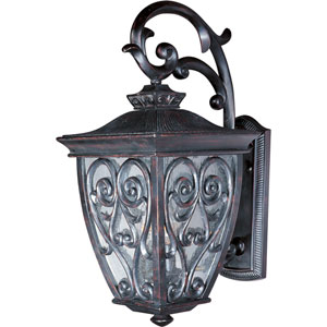 Newbury VX Oriental Bronze Two-Light Outdoor Wall Lantern