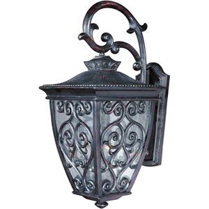 Newbury VX Oriental Bronze Three-Light Outdoor Wall Lantern
