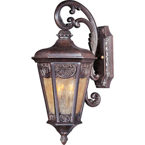 Lexington VX Colonial Umber Two-Light Outdoor Wall Lantern