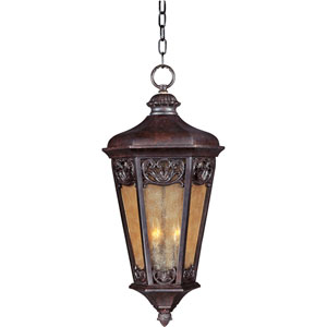 Lexington VX Colonial Umber Three-Light Outdoor Hanging Lantern