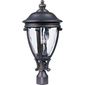 Camden VX Golden Bronze Three-Light Outdoor Pole/Post Mount