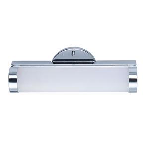 Polar LED Polished Chrome 12-Inch LED Bath Vanity