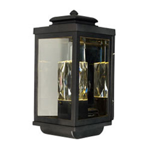 Mandeville Galaxy Black LED One-Light Outdoor Wall Mount