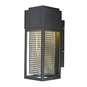 Townhouse Galaxy Black LED One-Light Five-Inch Outdoor Wall Mount