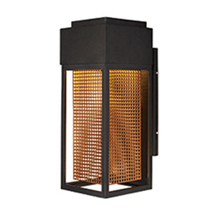 Townhouse Galaxy Bronze LED One-Light Seven-Inch Outdoor Wall Mount