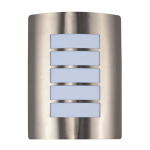 View LED Stainless Steel One-Light Nine-Inch Outdoor Wall Sconce