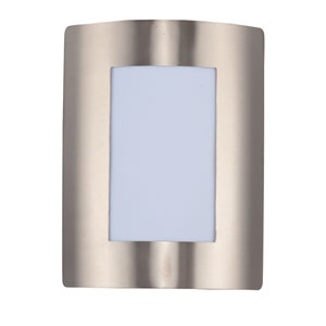 View LED Stainless Steel One-Light Eight-Inch Outdoor Wall Sconce