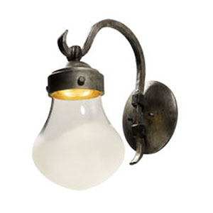 Rustica Blacksmith LED One-Light Outdoor Wall Mount
