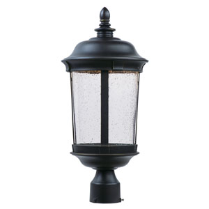 Dover LED Bronze One-Light Outdoor Post