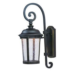 Dover LED Bronze One-Light Eight-Inch Outdoor Wall Sconce
