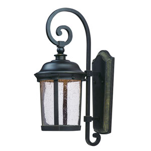 Dover LED Bronze One-Light Nine-Inch Outdoor Wall Sconce