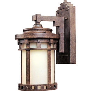 Santa Barbara LED Sienna One-Light Five-Inch Outdoor Wall Sconce