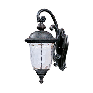 Carriage House LED Oriental Bronze One-Light Twenty-Inch Outdoor Wall Sconce