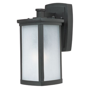 Terace LED Bronze One-Light Five-Inch Outdoor Wall Sconce