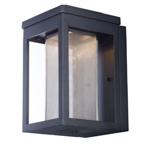Salon LED Black 10-Inch LED Outdoor Wall Mount
