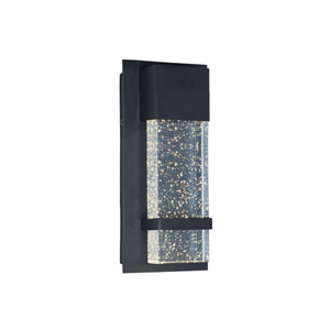 Cascade Black LED Seven-Inch Outdoor Wall Mount