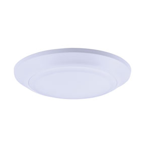 Diverse LED White Seven-Inch LED Flush Mount