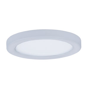 Wafer LED White Five-Inch LED Flush Mount