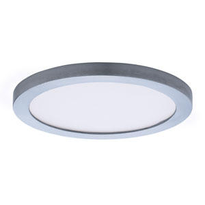 Wafer LED Satin Nickel Seven-Inch LED Flush Mount