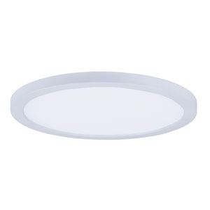 Wafer LED White 10-Inch LED Flush Mount