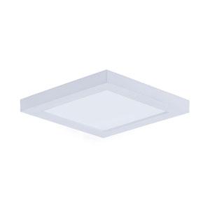 Wafer LED White Five-Inch LED Square Flush Mount