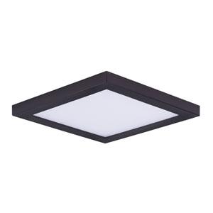 Wafer LED Bronze Seven-Inch LED Square Flush Mount