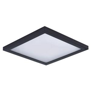 Wafer LED Bronze Nine-Inch LED Flush Mount