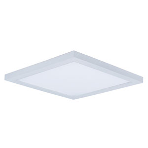 Wafer LED White Nine-Inch LED Flush Mount