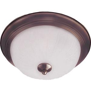 Essentials - 583x Oil Rubbed Bronze Two-Light Flushmount