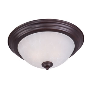 Essentials - 584x Oil Rubbed Bronze Two-Light Flushmount