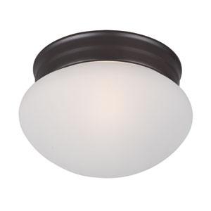 Essentials - 588x Oil Rubbed Bronze One-Light Flushmount