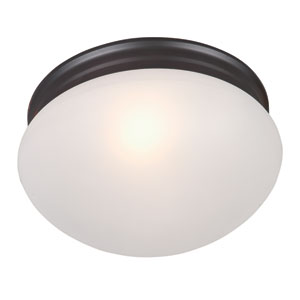 Essentials - 588x Oil Rubbed Bronze Two-Light Flushmount