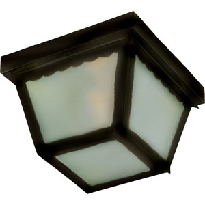Outdoor Essentials - 620x Black Two-Light Flushmount