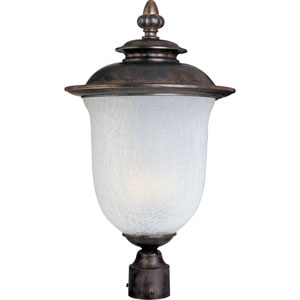 Energy Star Chocolate Cambria One-Light Outdoor Post Mount