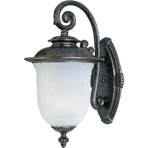 Energy Star Chocolate Cambria One-Light Outdoor Wall Light