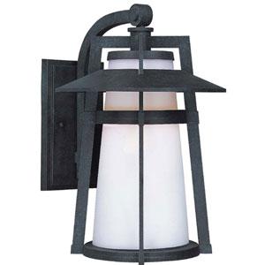 Calistoga Adobe 15.5-Inch High Fluorescent One-Light Outdoor Wall Mount