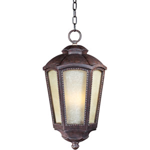 Pacific Heights VX ES Mottled Leather One-Light Outdoor Hanging Lantern