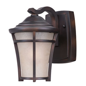 Balboa DC EE Copper Oxide One-Light Six-Inch Fluorescent Outdoor Wall Sconce