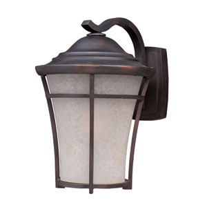 Balboa DC EE Copper Oxide One-Light Ten-Inch Fluorescent Outdoor Wall Sconce