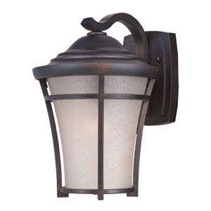 Balboa DC EE Copper Oxide One-Light Twelve-Inch Fluorescent Outdoor Wall Sconce