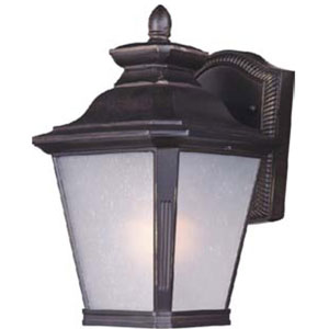 Knoxville Bronze 7-Inch Wide One-Light Fluorescent Outdoor Wall Mount