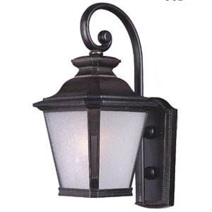 Knoxville Bronze 9-Inch Wide One-Light Fluorescent Outdoor Wall Mount