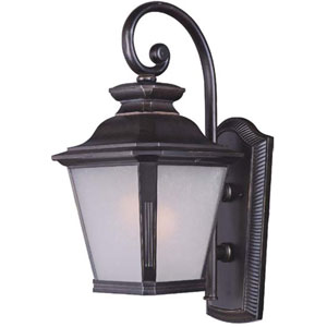 Knoxville Bronze 11-Inch Wide One-Light Fluorescent Outdoor Wall Mount