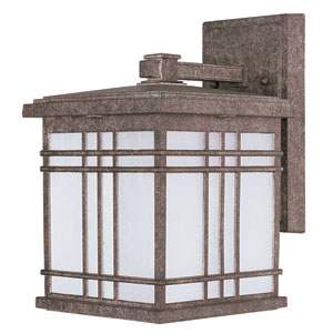 Sienna EE Earth Tone One-Light Fluorescent Eleven-Inch Outdoor Wall Sconce