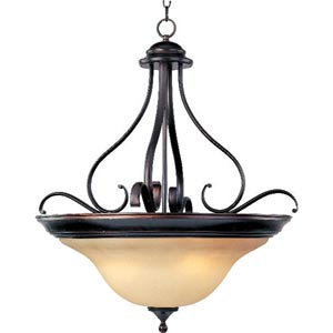 Energy Star Oil Rubbed Bronze Linda Four-Light Pendant