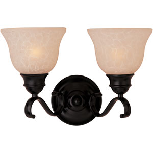 Energy Star Oil Rubbed Bronze Linda Two-Light Vanity
