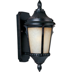 Odessa EE Fluorescent Espresso 7-Inch Wide One-Light Outdoor Wall Mount