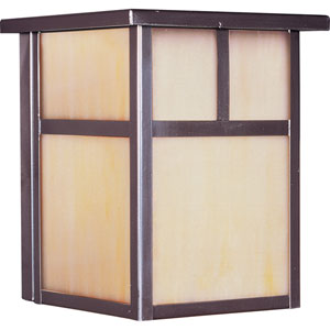 Coldwater EE Fluorescent Burnished 7.5-Inch High One-Light Outdoor Wall Mount