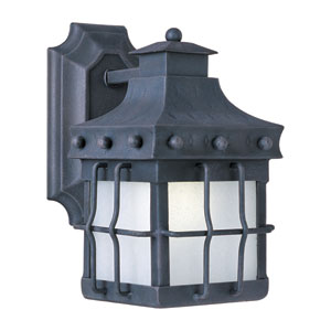 Nantucket EE Country Forge 10.5-Inch Title 24 One Light Outdoor Wall Mount