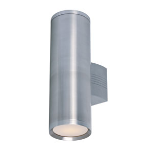 Lightray Brushed Aluminum 15.5-Inch High LED Wall Sconce